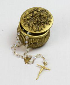 rosario y estuche