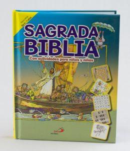 Biblia con actividades
